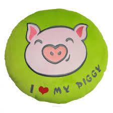 Подушка I love my piggy